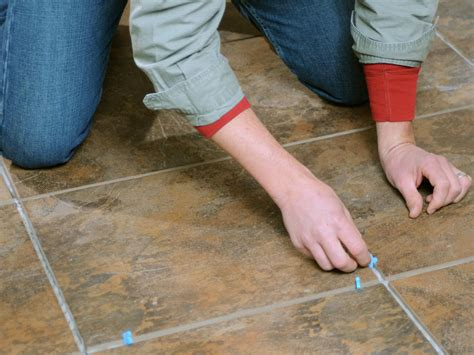 How To Lay A Tile Floor In A Bathroom by Laying A New Tile Floor How Tos Diy