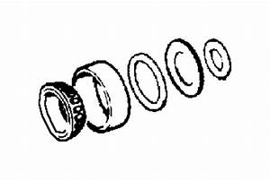 Jeep Wrangler Differential Pinion Bearing  Rear