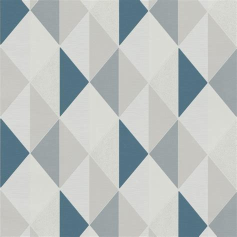 black and purple bedroom decorating ideas teal blue geometric wallpaper by grandeco on3102