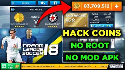how to hack league soccer 2018 coins dls 18 hack