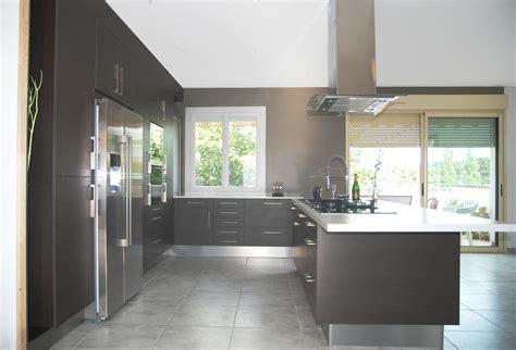 cuisine frigo americain cuisine avec frigo americain integre kirafes