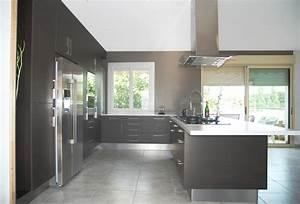 cuisine avec frigo americain integre kirafes With cuisine avec frigo americain integre
