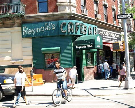 heights washington york bar sign reynold