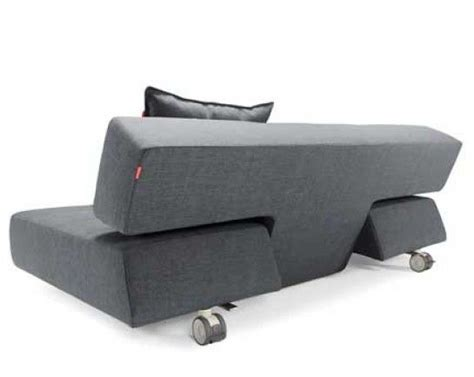 Sofa Bed With Wheels by Hip Furniture Horn Deluxe Sleeper Sofa This