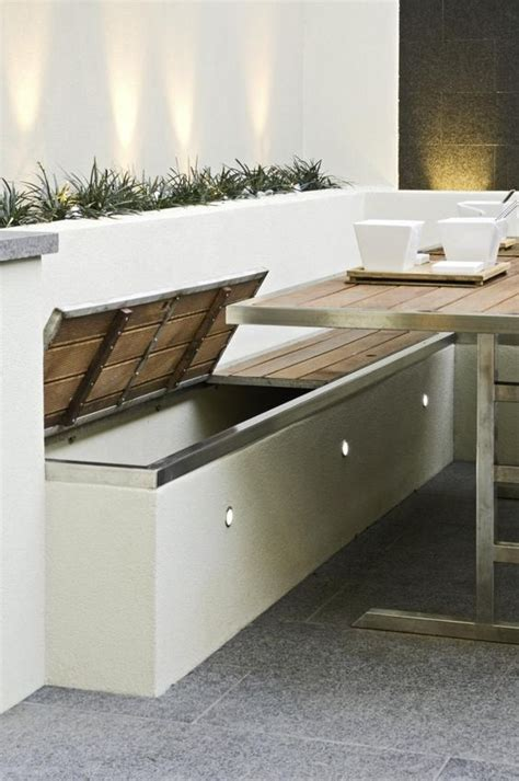 l shaped storage bench 27 comfy l shaped benches for outdoors digsdigs