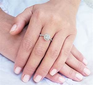 Halo Wedding Ring Set Images Ladies Sterling Silver Ring