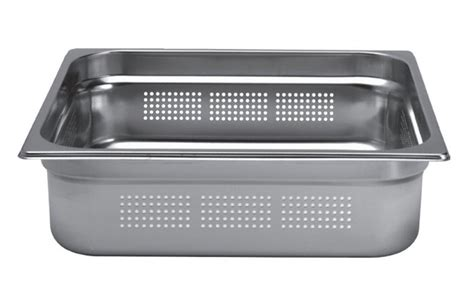 bac inox cuisine bac inox cuisine gastronorme gn2 3 perforé inox aisi