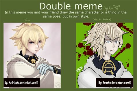 Double Meme - double meme with aruzhu by mad izoku on deviantart