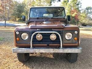 Land Rover Macon : 1983 land rover defender 110 county v8 gasoline numbers matching ~ Medecine-chirurgie-esthetiques.com Avis de Voitures