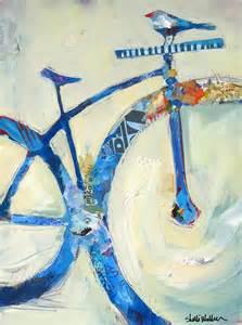 Mountain Bike Art Painting
