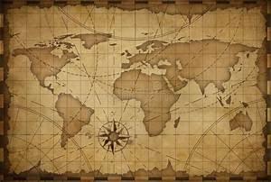 Old world map background stock illustration. Illustration ...