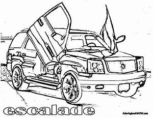 cadillac free coloring pages With white cadillac cts6
