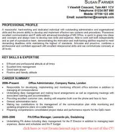 free resume templates for administrative positions jobs office administrator cv exle forums learnist org