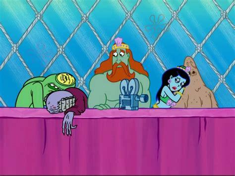 spongebuddy mania spongebob episode  clash  triton