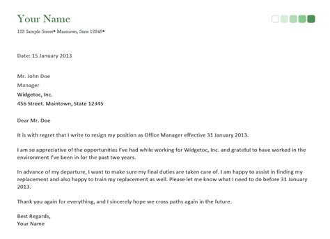 write  letter  resignation word book love