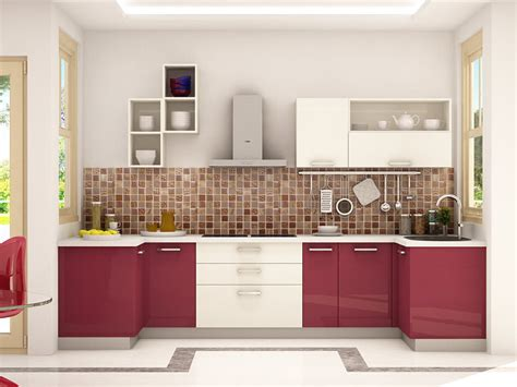 Dremlin Ushaped Modular Kitchen Designs India  Homelane