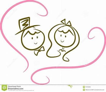 Couple Clipart Tractor Happy Bride Illustration Cliparts
