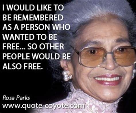 rosa parks freedom quotes quotesgram