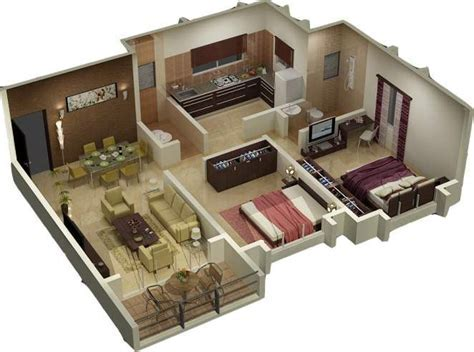 Basement Floor Plans With Stairs In Middle   Southern