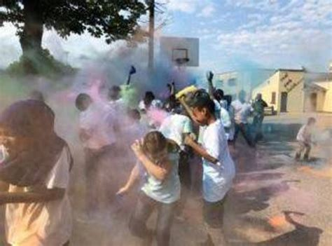color run nj color run at gordon parks academy east orange orange