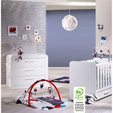 chambre sauthon astride chambre duo astride blanc lit et commode au meilleur prix