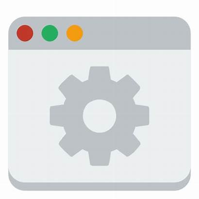 System Icon Window Flat Tools Audience Icons