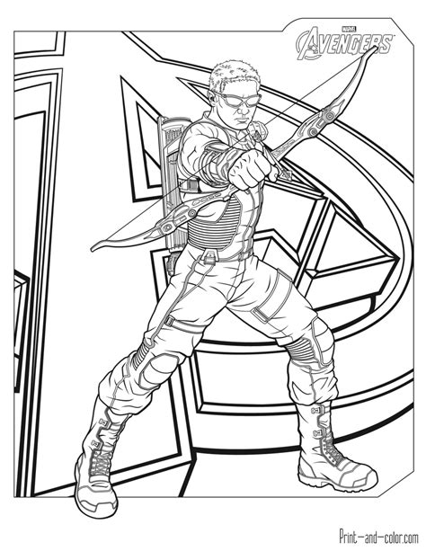 avengers coloring pages pdf avengers coloring pages print and color com