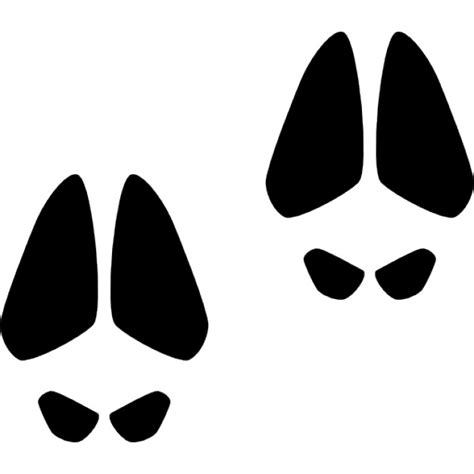 pig footprints clipart clipground