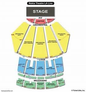 Microsoft Theater Seating Chart