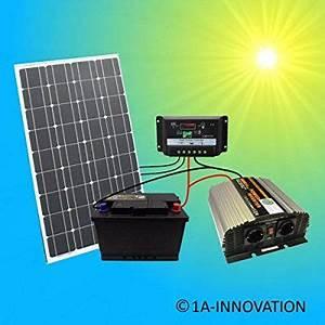 Solaranlage Mit Batterie : komplette 220v solaranlage t v akku 100w solarmodul 1000w ~ Whattoseeinmadrid.com Haus und Dekorationen