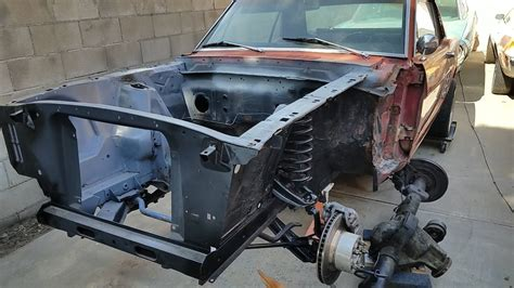 installing borgeson power steering in 66 mustang pt 1 of 2