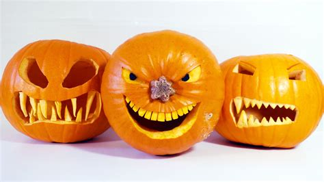 pictures to carve pumpkins how to carve halloween pumpkins youtube