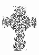 Cross Coloring Celtic Pages Amazing Sheets Crucifix Mandala Printable Adults Drawing Print Cornish Crosses Colouring Adult Tocolor Patterns Sheet Place sketch template