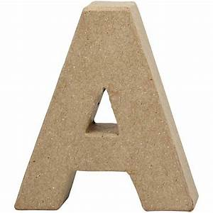 creativ company paper mache shape letter a buy ready With where to buy paper mache letters