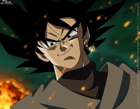 Black Goku Manga By Zika Arts On Deviantart