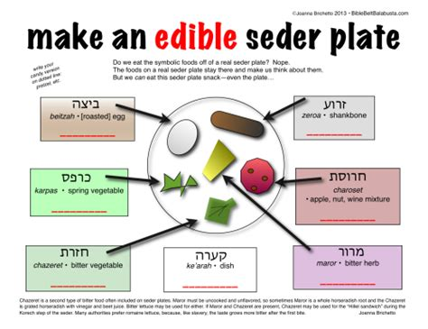 sedar plates mini edible seder plate bible belt balabusta