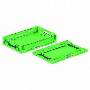 Bac Plastique Ajouré : bac plastique pliable ajour vert 600x400x120 ~ Edinachiropracticcenter.com Idées de Décoration