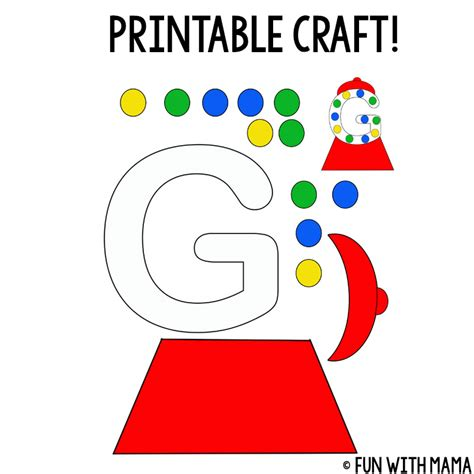 letter g crafts letter g worksheets with