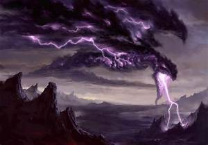 electric-dragon-mountain-dark-backgrounds-wallpaper-anime ...