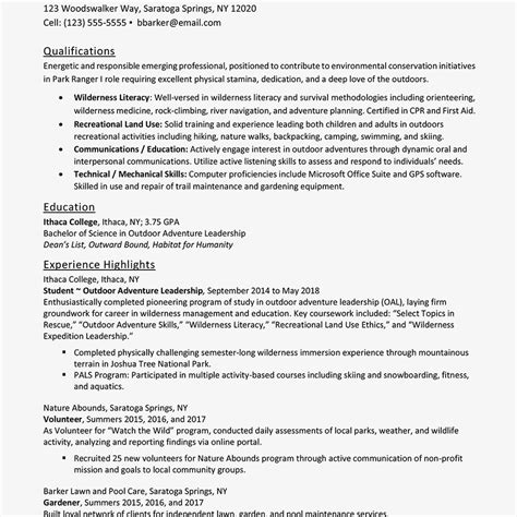 Entry Level Resume by Entry Level Resume Exles And Writing Tips