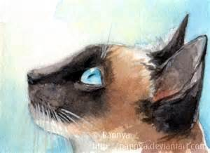 Siamese Cat Art