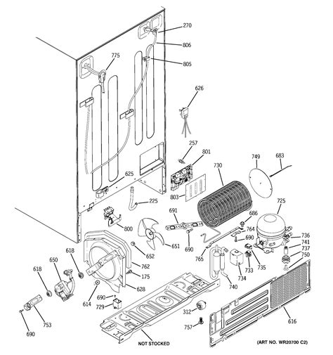 ge model pshspgzbess side  side refrigerator genuine parts