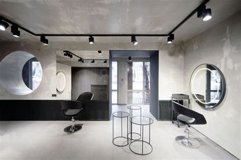 hair salon lighting salon numero uno by mel architecture and design 1532