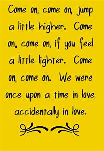 Counting Crows - Accidentally in Love - song lyrics, song ...