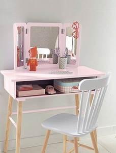 Coiffeuse 3 Miroirs : coiffeuse fille 3 miroirs th me paradis fleuri violet vertbaudet enfant coiffeuse ~ Teatrodelosmanantiales.com Idées de Décoration