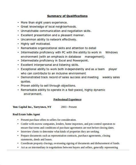 30 sales resume templates pdf doc free premium