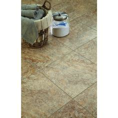 Groutable Peel And Stick Tile Home Depot by Trafficmaster Ceramica 12 In X 24 In Camel Resilient