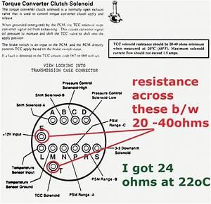 4l60e Transmission Wiring Diagram