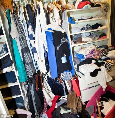 Wardrobe Closet For Small Spaces by A Messy Closet How To Say Goodbye To Clothes You Don T Wear