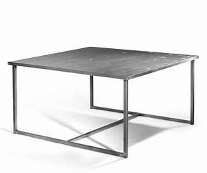 Table En Acier : table a manger acier maison design ~ Teatrodelosmanantiales.com Idées de Décoration